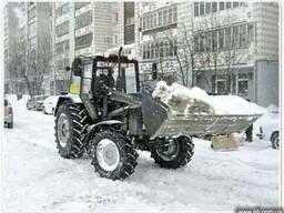 Прибирання, чищення снігу.