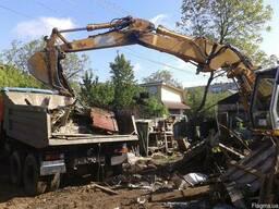 Прибирання Розчищення ділянки від дерев та кущів