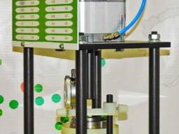 Прибор для предварительного уплотнения грунта перед сдвигом