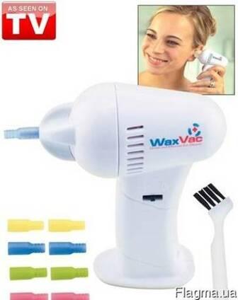 Прибор для удаления ушной серы Вакс Вак, ушечистка WaxVac