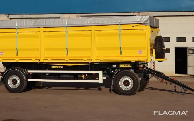 Прицеп Алеко контейнеровоз с гидравлическим оборудованием (оси SAF)