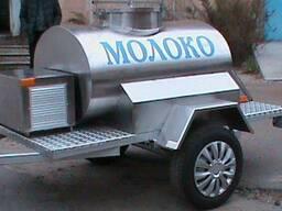 Прицеп-цистерна с охладителем
