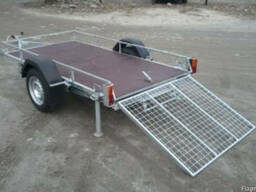 Прицеп для перевозки квадроцикла 1.35х2.5 в Черкассах