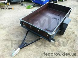 Прицеп легковой, фанерные борта 1200х2000х300 - Fedorov - прицепы и фаркопы