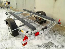 Прицеп оцинкованный лодочный (лафет) для скутеров с трапом 4,3 - Fedorov