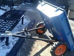 Прицеп-самосвал БелМет 105х120 для квадроцикла усиленный. ..
