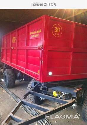 Прицеп тракторный 2ПТС-4;2ПТС-6, от производителя
