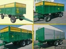 Прицеп тракторный бортовой 21 м³