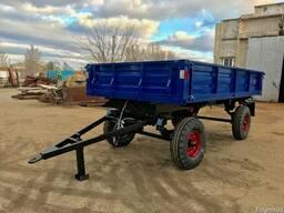 Прицеп тракторный самосвальный 2 ПТС-4