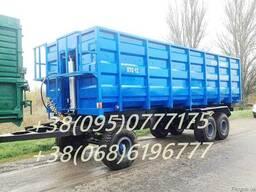 Прицеп тракторный самосвальный, зерновоз ПТС-12
