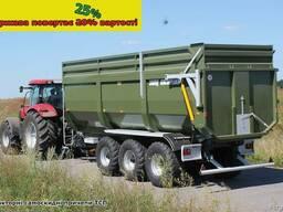 Прицеп тракторный зерновоз ТСП (от 8 до 30 тонн). 2018 г. в.