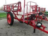 Причіпний тракторний обприскувач ОРП 2000 л з АСУ штанга 18 - фото 1