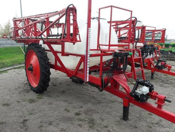 Причіпний тракторний обприскувач ОРП 2000 л з АСУ штанга 18