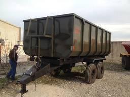 Полупричіп тракторний НТС-8
