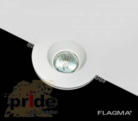 Pride Светильник точечный 79130 гипс Trimlles от TM Pride