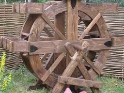 Цветочная клумба-колесо Код: УВ-12
