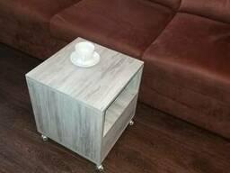 Мобильная Тумба, кофейный столик, пуфик