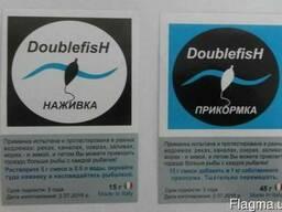 Приманка(15г) Прикормка(15г)для рыбы DoubleFish оптом от100ш