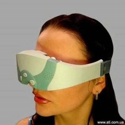Примените Mассажер для глаз у себя