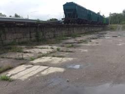 Принятие вагонов на собственную ж/д ветку в Харьковской обл