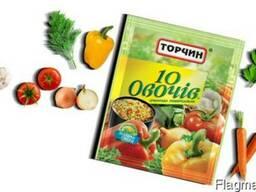 Приправа, Специи, Торчин. 10 овочів