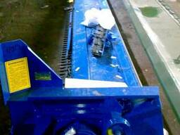 Приспособление для уборки рапса на зерновую жатку