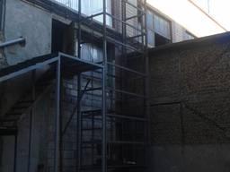 Приставной подъёмник шахтного типа Украина