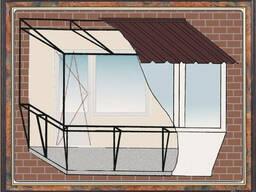 Пристройка балкона, ремонт, расширение, обшивка, остекление