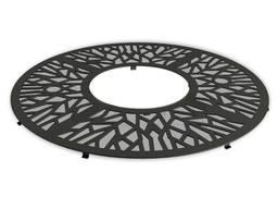Приствольная решетка круглая - Любой узор и логотип
