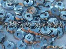 Прижимная пластина на грабли-ворошилки металлическая