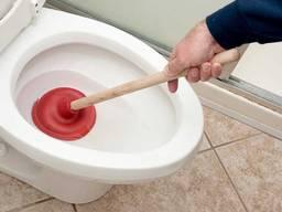 Прочистка канализации и устранение засоров
