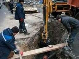 Прочистка систем канализации - прочистка труб канализации