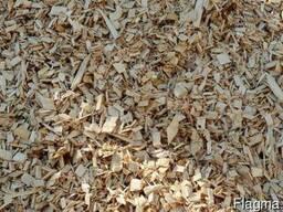 Продаем щепу древесную техническую 210 грн/куб . (1...4 см)
