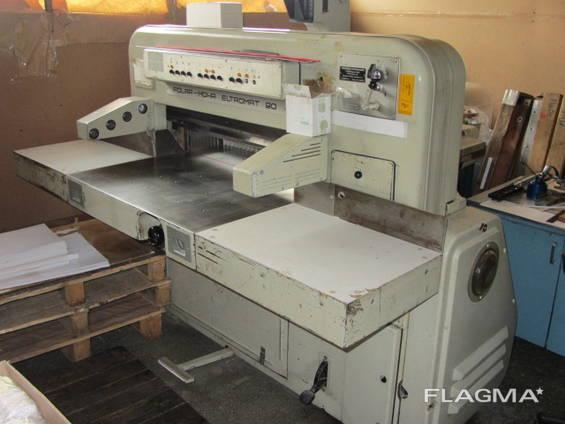 Продается бумагорезательная машина Polar Eltromat 90EL