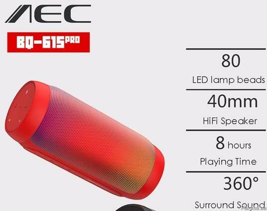 Продам 6Вт Светомузыкальную AEC BQ-615 Pro портативную колон