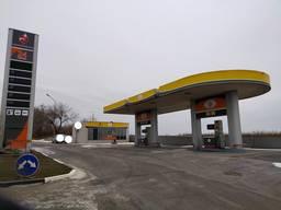 Продам АЗС на вьезде в Харьков со стороны Чугуева , перед окружной