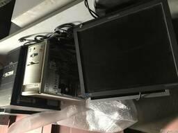 Продам б/у мониторы и системные блоки