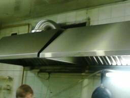 Продам бу зонты нерж вентиляционные с жироуловителями Одесса