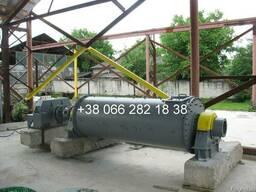 Продам цементную мельницу шаровую барабанную МШБ-1х3
