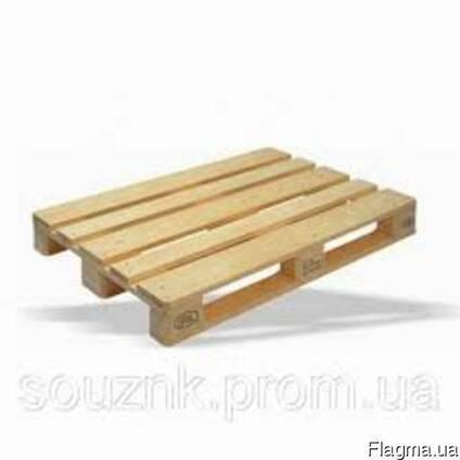 Продам деревянный поддон новый (не опт. )