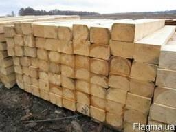 Продам деревянные шпалы брус.