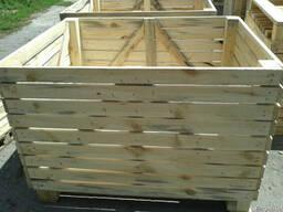 Продам деревьяные ящики (контейнеры)