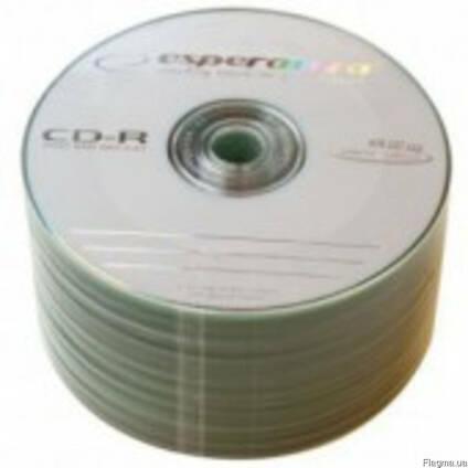 Продам диски DVD-R, DVD-RW, CD-R, CD-RW Esperanza, Videx