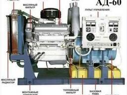 Продам дизельную электростанцию 60 квт, 400 вольт - АД-60