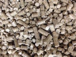 Древесные гранулы (пеллеты) 6 и 8мм