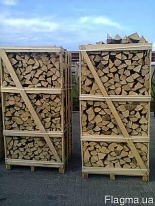 Продам дрова колоті на експорт (граб, ясен, дуб, береза)