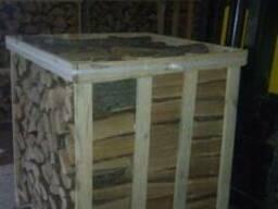 Продам дрова колотые в ящиках по 1 складометру