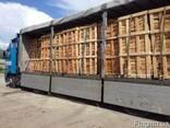 Продам дрова на експорт колотые дубовые , бук , граб