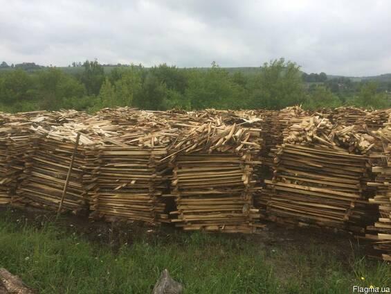 Продам дубові дрова ( обрізки)