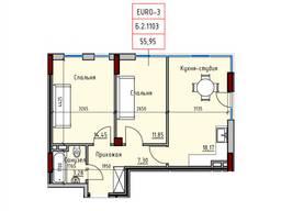 Продам двухкомнатную квартиру в новом доме.
